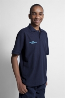 Picture of Polo Shirt (deep navy) with Sea Cadet logo