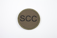 Picture of (Serial 405) RMC Black on Green Badge (Circular)