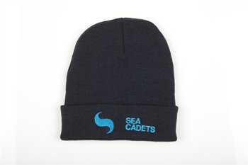 Picture of Beanie Hat with Sea Cadets or Royal Marines Cadets logo