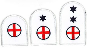 Picture of First Aid (Blue on White Badges)