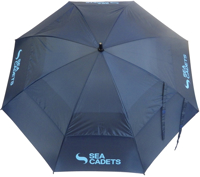 Picture of Umbrella with Sea Cadets Logo Large Deluxe Umbrella with Sea Cadets Logo