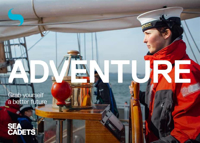 Picture of Sea Cadets Development Workers Leaflets Postcard - Adventure (x 10)