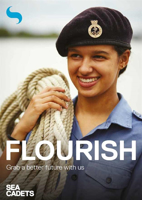 Picture of Sea Cadets Development Workers Leaflets Leaflet - Flourish (x 10)