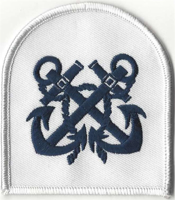 Picture of (Serial 057.5) Probationary Petty Officer / Acting Petty Officer Arm Badge (Blue)